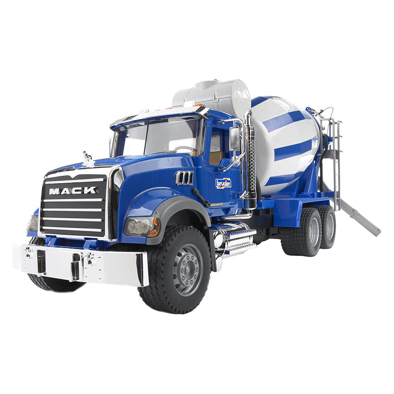 Bruder Pro Series Mack Granite Cement Mixer 1:16 Scale Vehicle