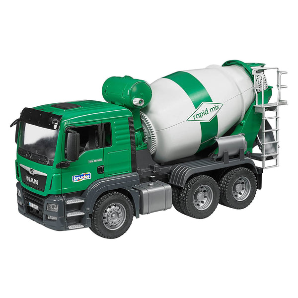 Bruder Pro Series Man TGS Cement Mixer 1:16 Scale Vehicle