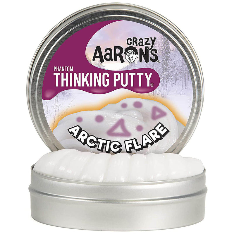 Crazy Aaron's Thinking Putty - Arctic Flare - 4""