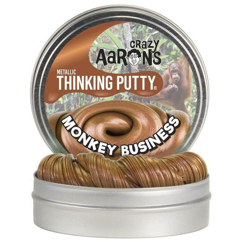"Crazy Aaron's Thinking Putty Novelty 4"" Monkey Business"