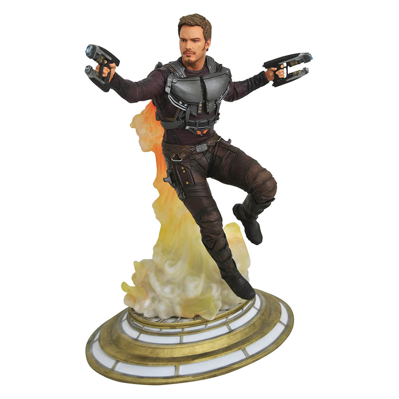Marvel Gallery GOTG Maskless Star-Lord PVC Statue