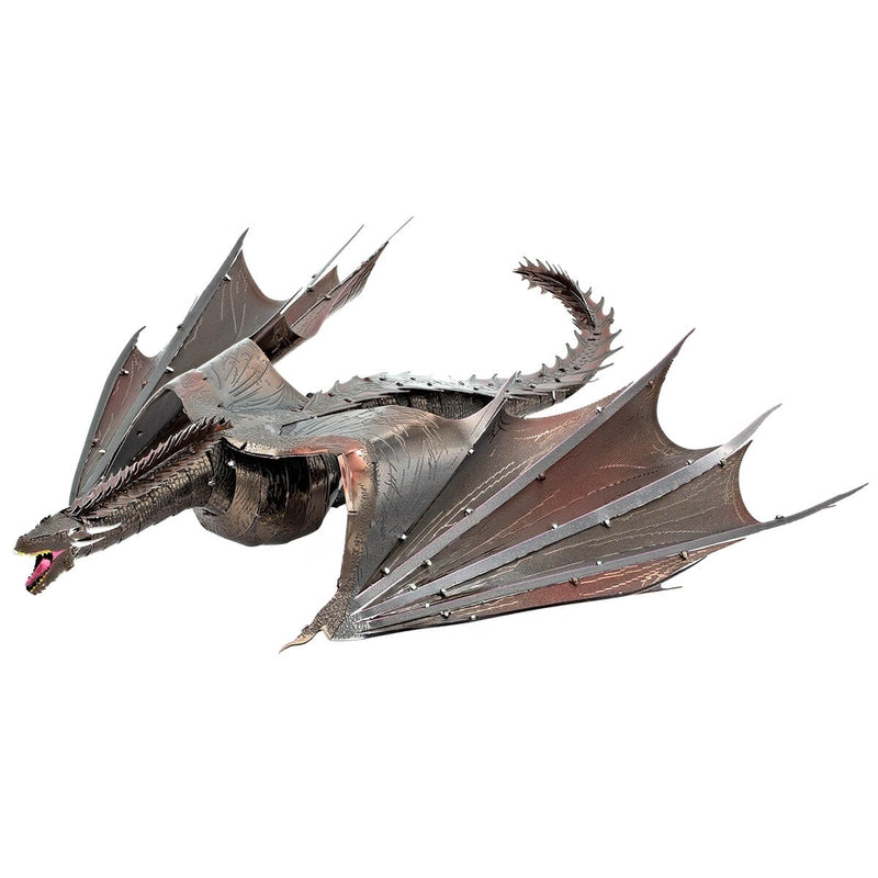 Metal Earth Premium Iconx Game of Thrones Drogon 2 Sheet Model Kit