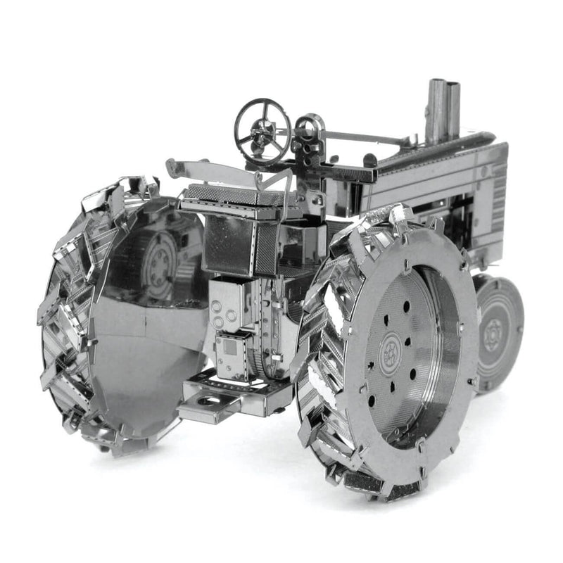 Back view of the tractor model set.