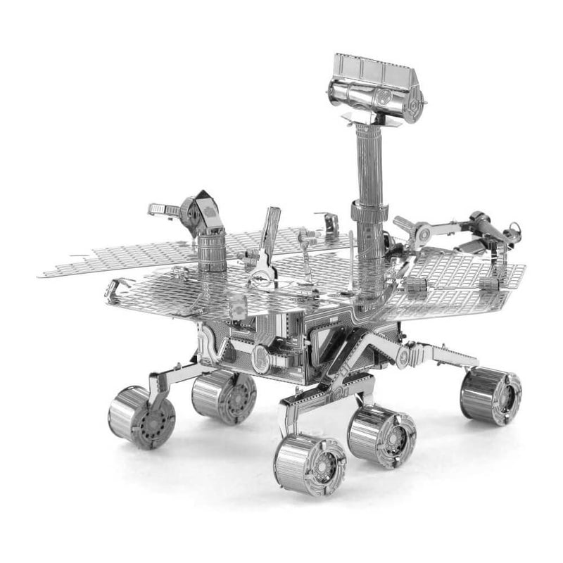 Back view of the Metal Earth Mars Rover Metal Model Kit - 2 Sheets.