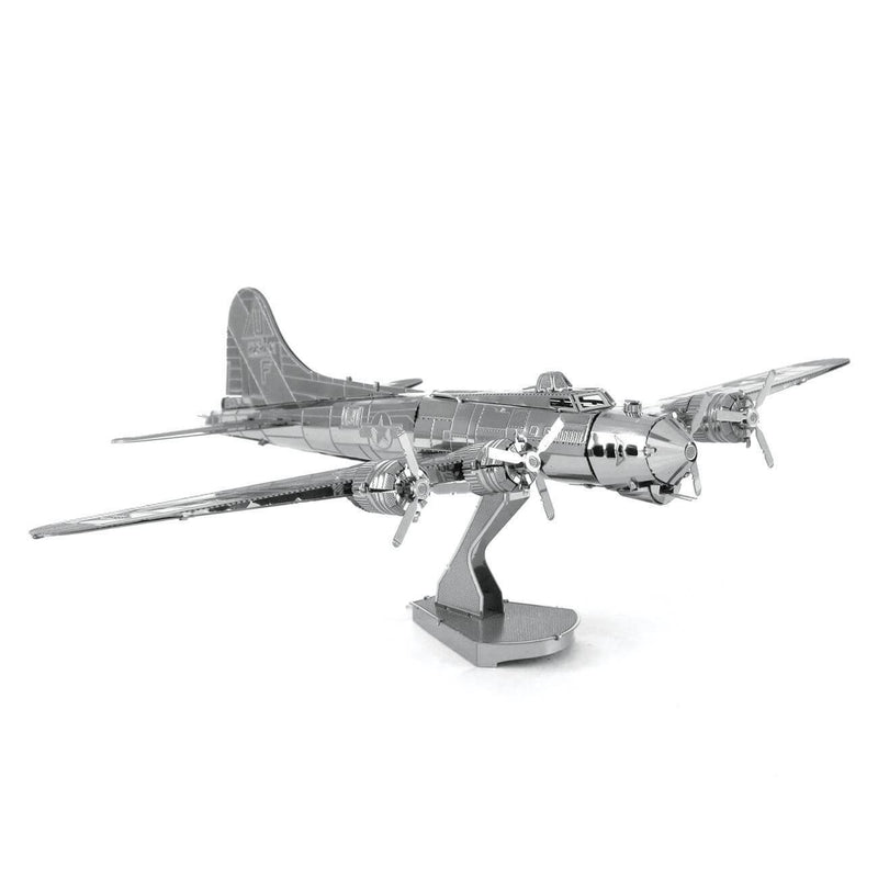 Metal Earth Boeing B-17 Flying Fortress Plane Model Kit - 2 Sheets