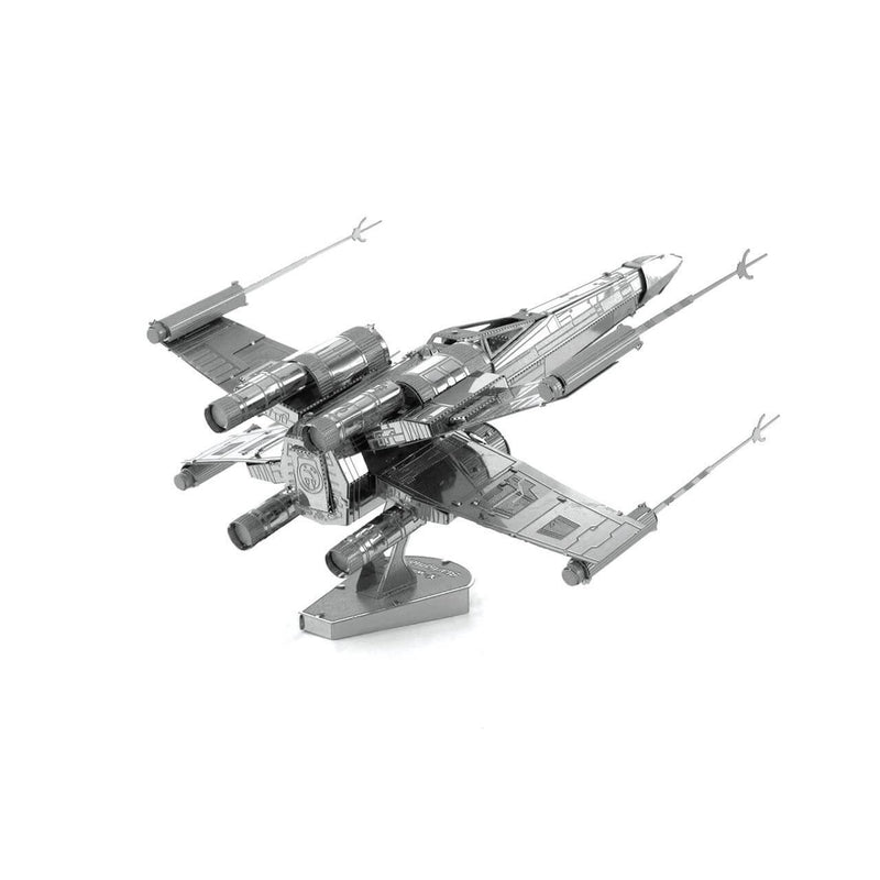 Side view of the metal model kit.