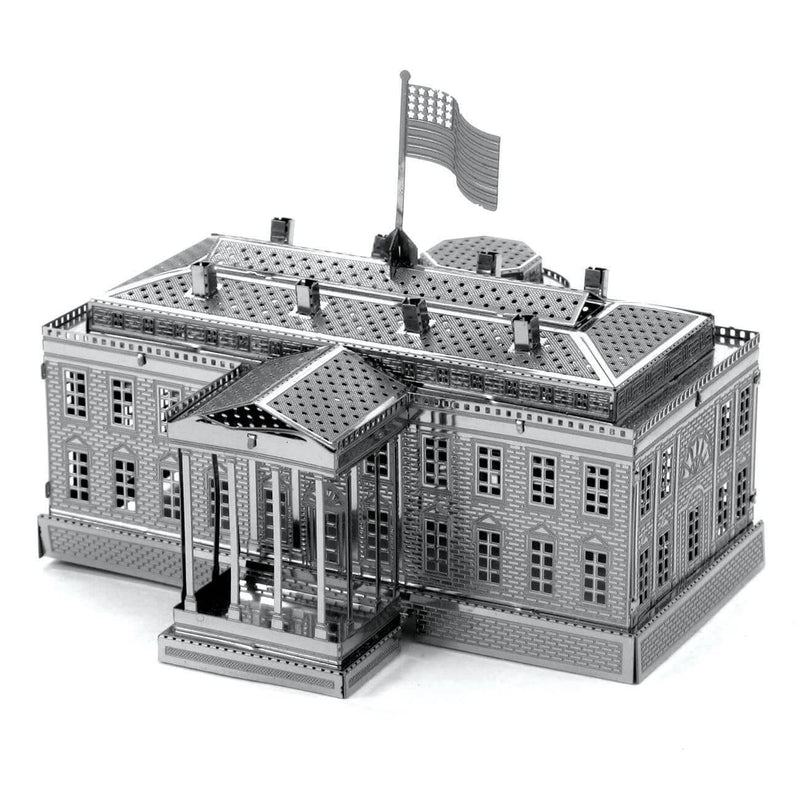 Metal Earth White House Metal Model Kit - 2 Sheets