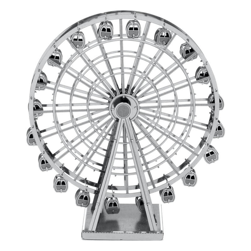 Front view of the ferris wheel.