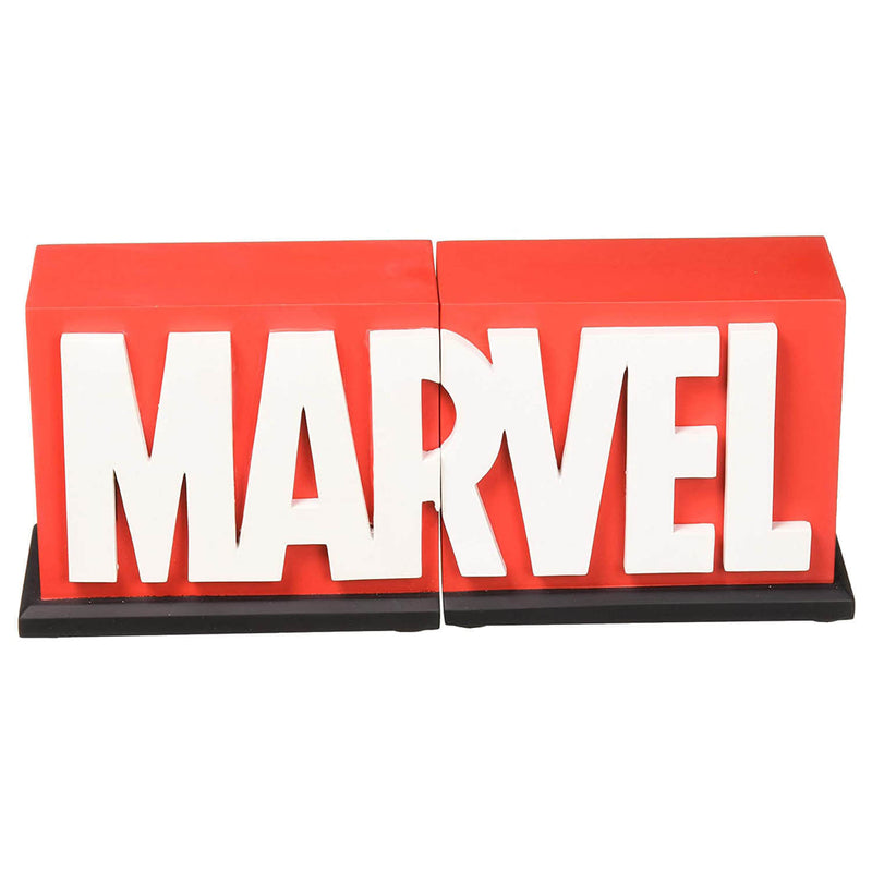 Gentle Giant Marvel Logo Collectible Bookends Limited Edition