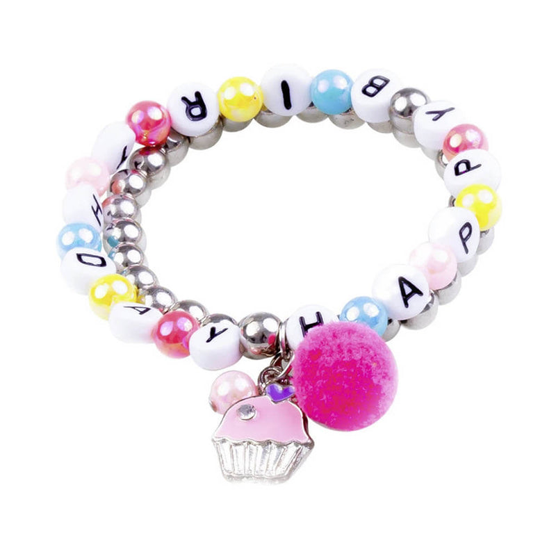 Great Pretenders Happy Birthday Bracelets 2 Pieces