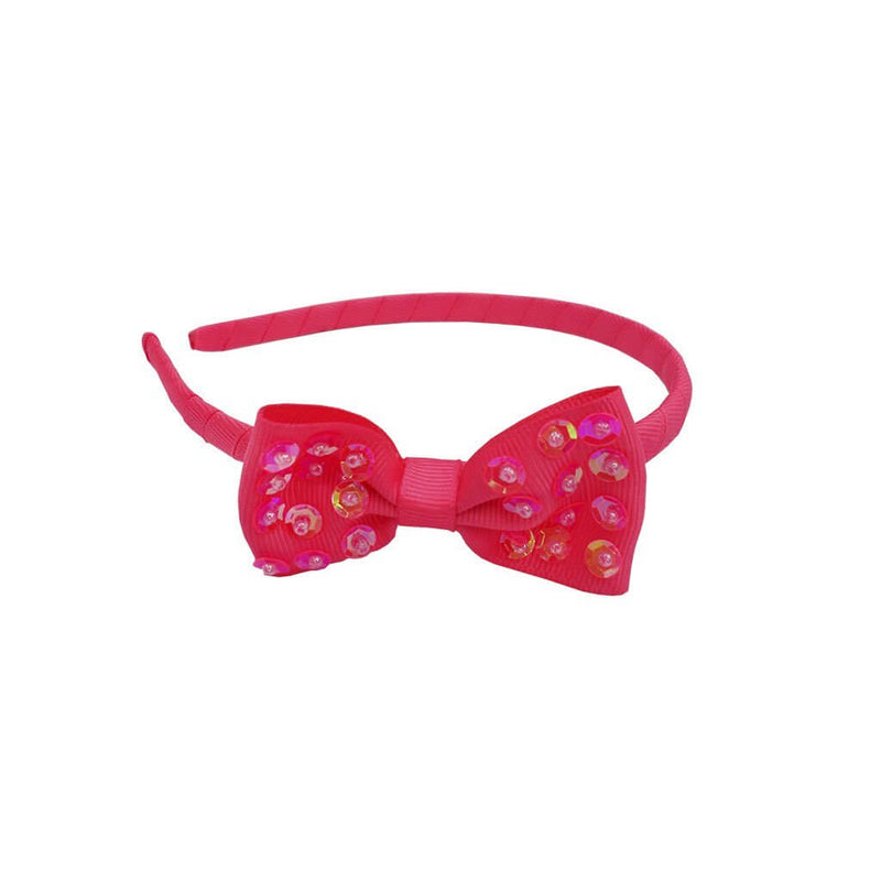 Great Pretenders Bow-Licious Headband