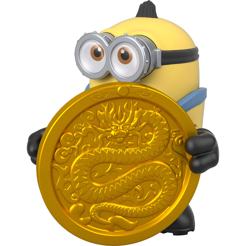 Imaginext Minions Otto & The Stone Of The Golden Dragon Figure