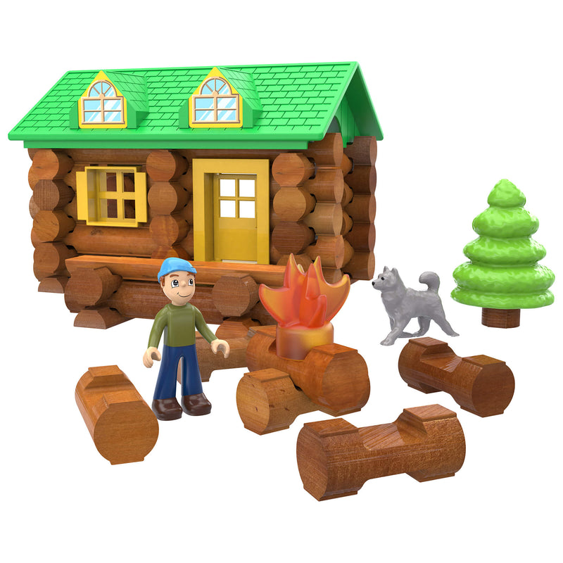 Lincoln Logs On the Trail 59 Piece Building Set