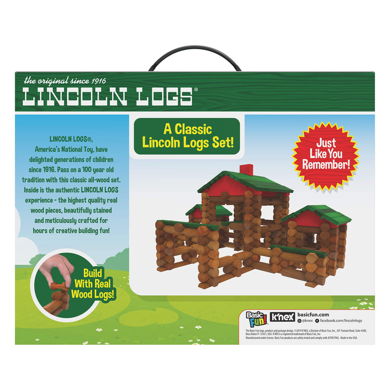 Lincoln Logs Classic Farmhouse 268 Piece Building Set