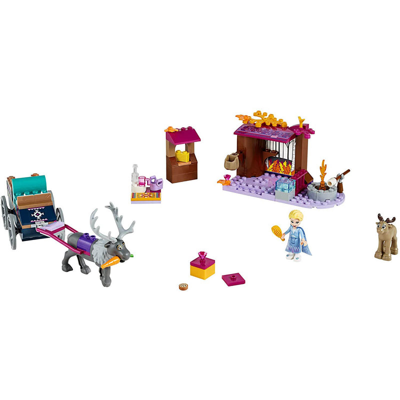 LEGO Disney Princess Elsa's Wagon Adventure 116 Piece Set (41166)