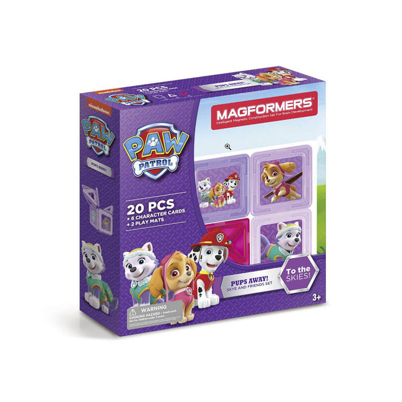 Magformers Paw Patrol 20 Piece Pups Away! Set