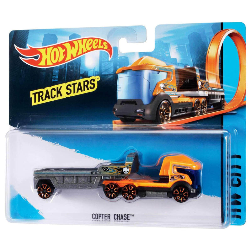 Hot Wheels Trackin' Trucks 50th Anniversary (Assorted, styles vary)