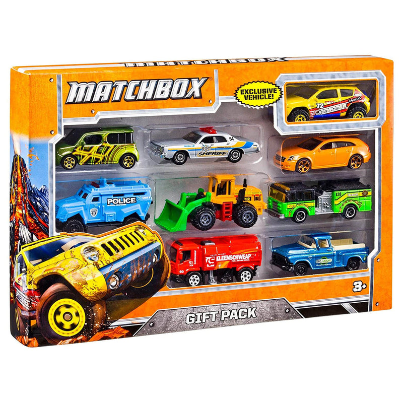 Matchbox Basic Car 9 Pack (Assorted, Styles Vary)