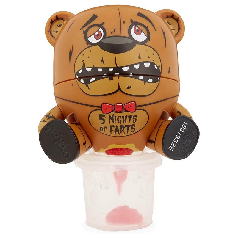 Front view of the five nights of farts figure.