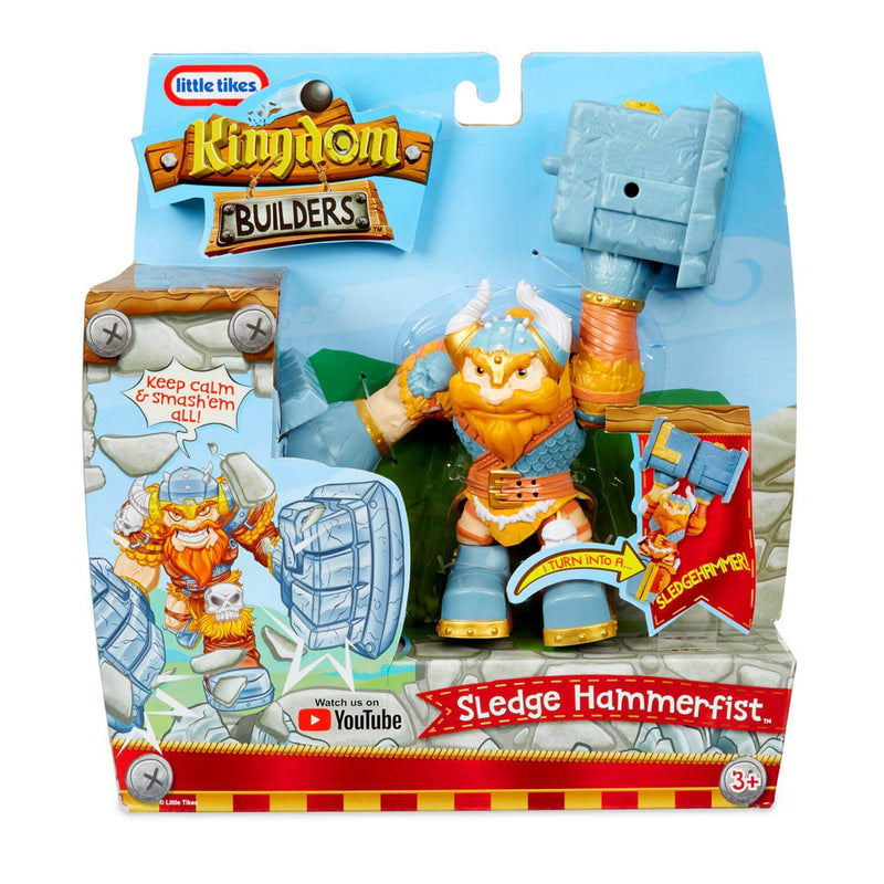 Front view of the Kingdom Builders Sledge Hammerfist package.