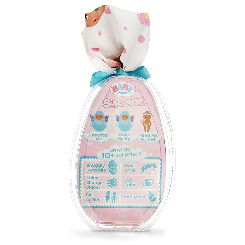 Back view of the BABY born Surprise Series 2 package.
