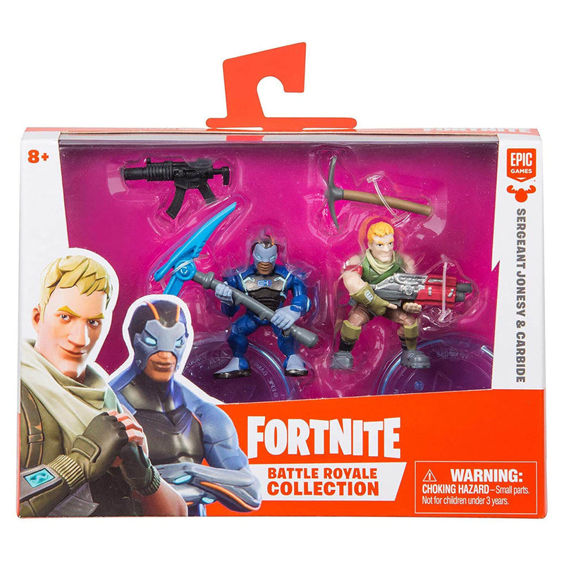 "Fortnite 2"" Duo Figure Pack - Sergeant Jonesy and Carbide"