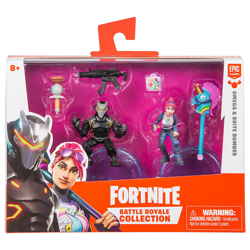"Fortnite 2"" Duo Figure Pack - Omega and Brite Bomber"