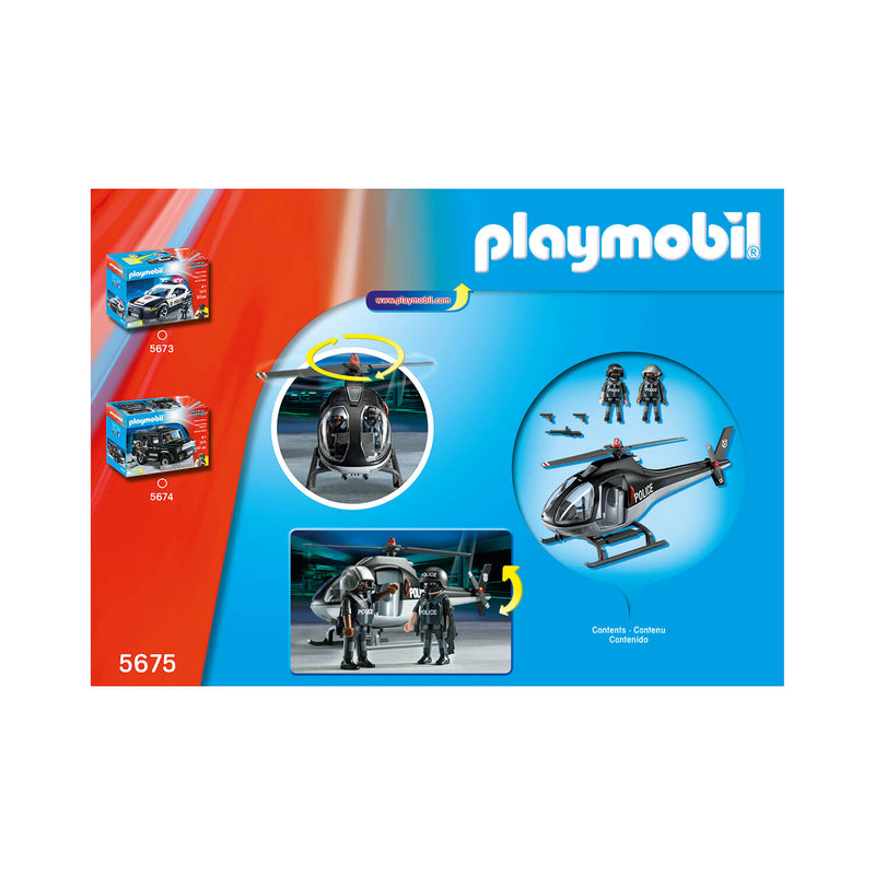 PLAYMOBIL Vehicle Tactical Unit Copter (5675)