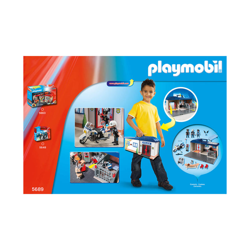 PLAYMOBIL Take Along Take Along Police Station (5689)