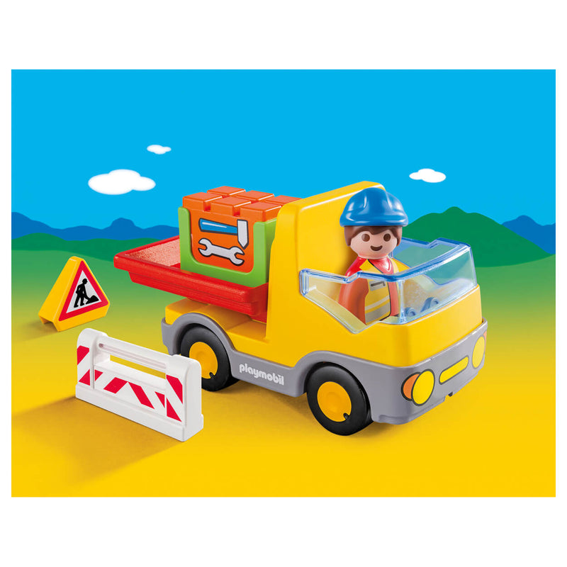 PLAYMOBIL 1.2.3 - Construction Truck