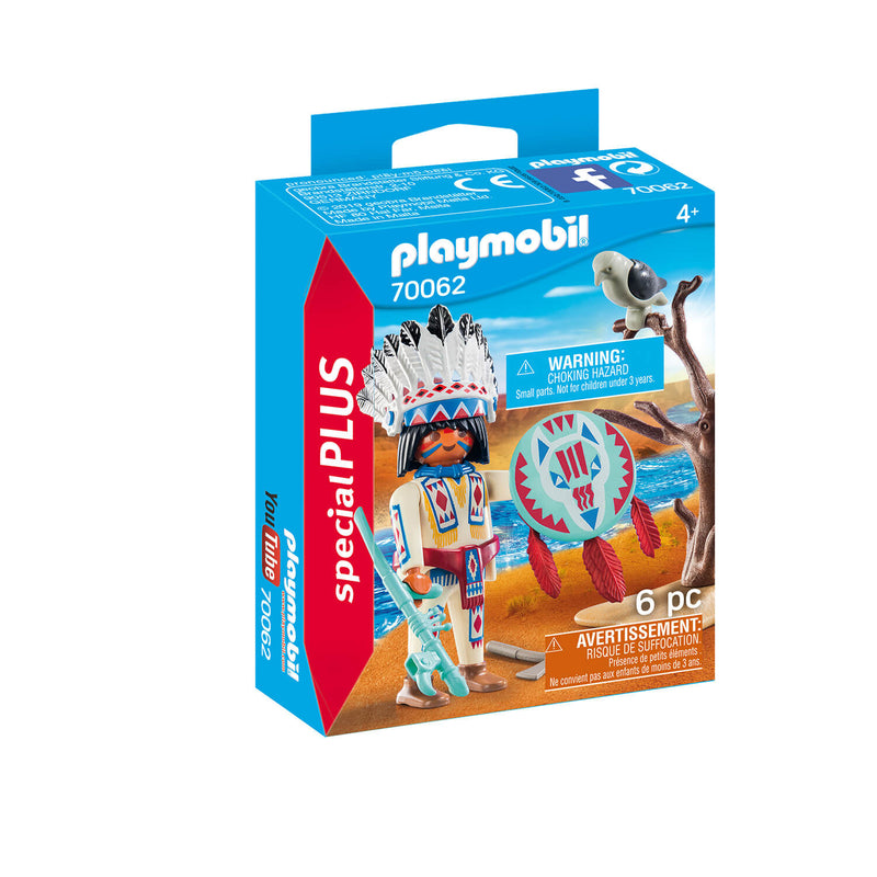 PLAYMOBIL Special Plus Native American Chief (70062)