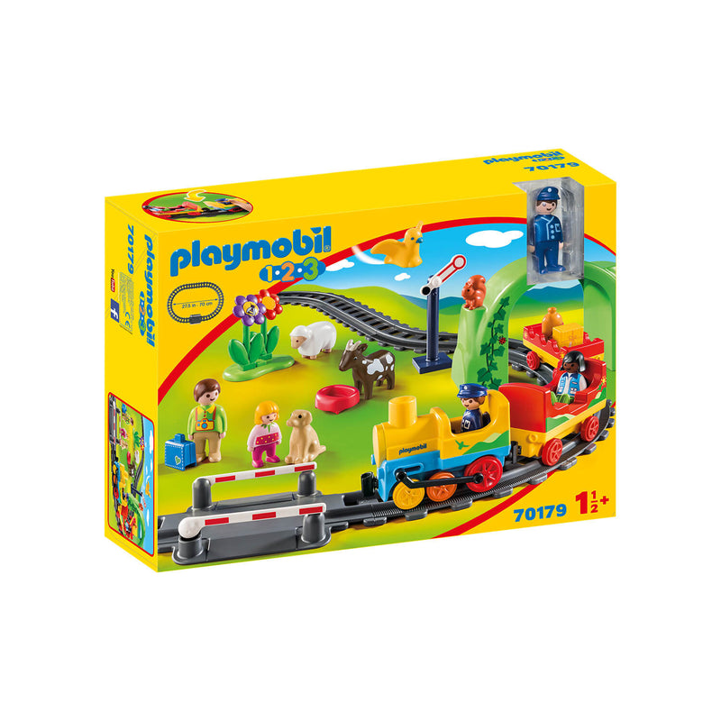 PLAYMOBIL 1.2.3 My First Train Set (70179)