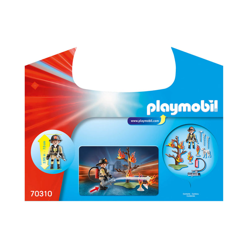 PLAYMOBIL Carry Case Fire Rescue Carry Case (70310)