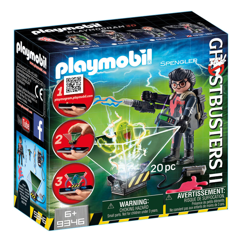 PLAYMOBIL Ghostbusters II PLAYMOGRAM 3D Egon Spengler (9346)