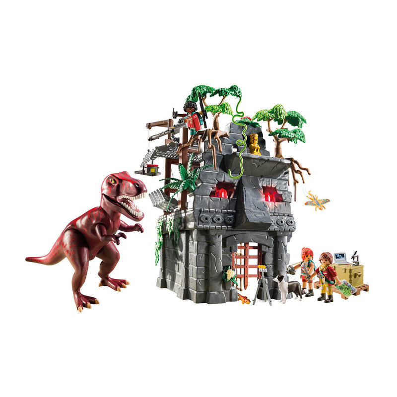 PLAYMOBIL Dinos Hidden Temple with T-Rex (9429)