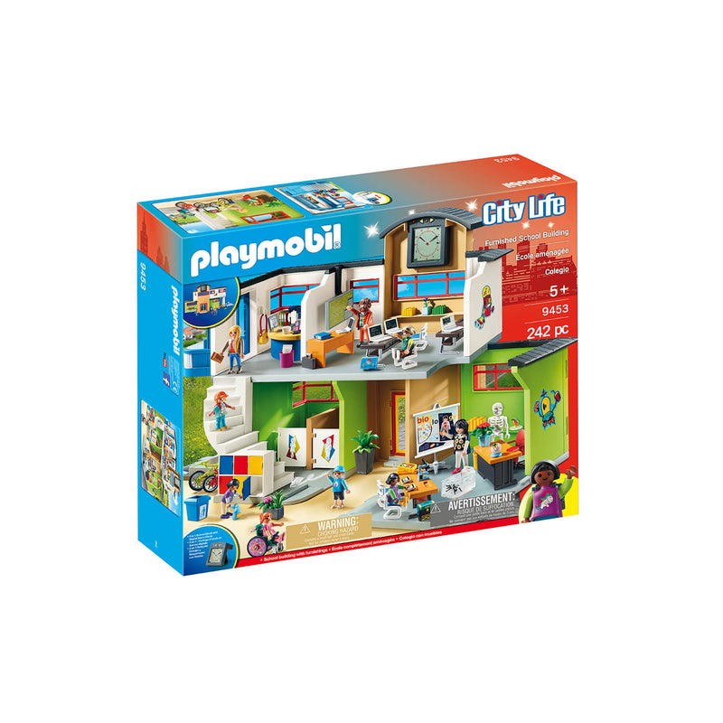 PLAYMOBIL School Furnished School Building (9453)