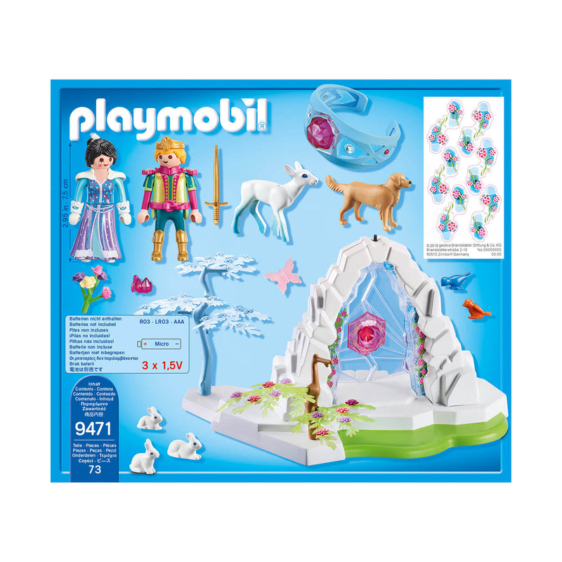 PLAYMOBIL Crystal Palace Crystal Gate to the Winter World (9471)