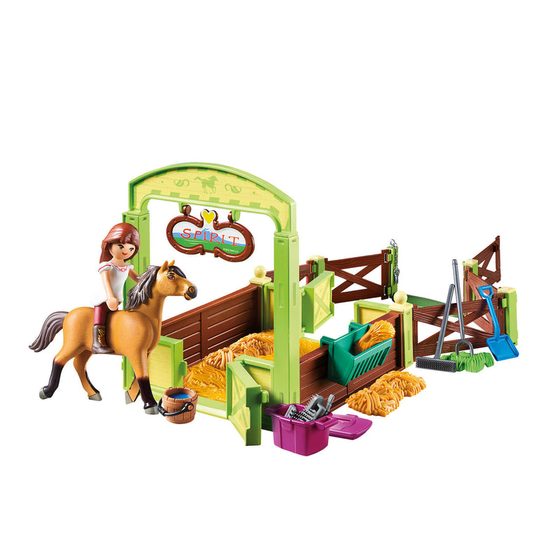 PLAYMOBIL Spirit Riding Free Lucky & Spirit with Horse Stall (9478)