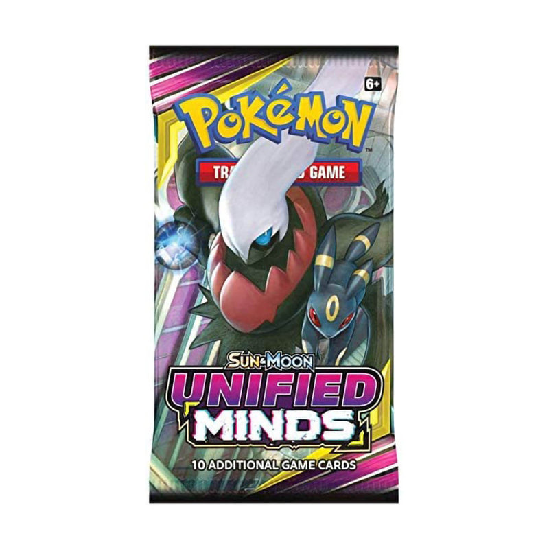 Pokemon Sun & Moon 11 Unified Minds Booster Deck