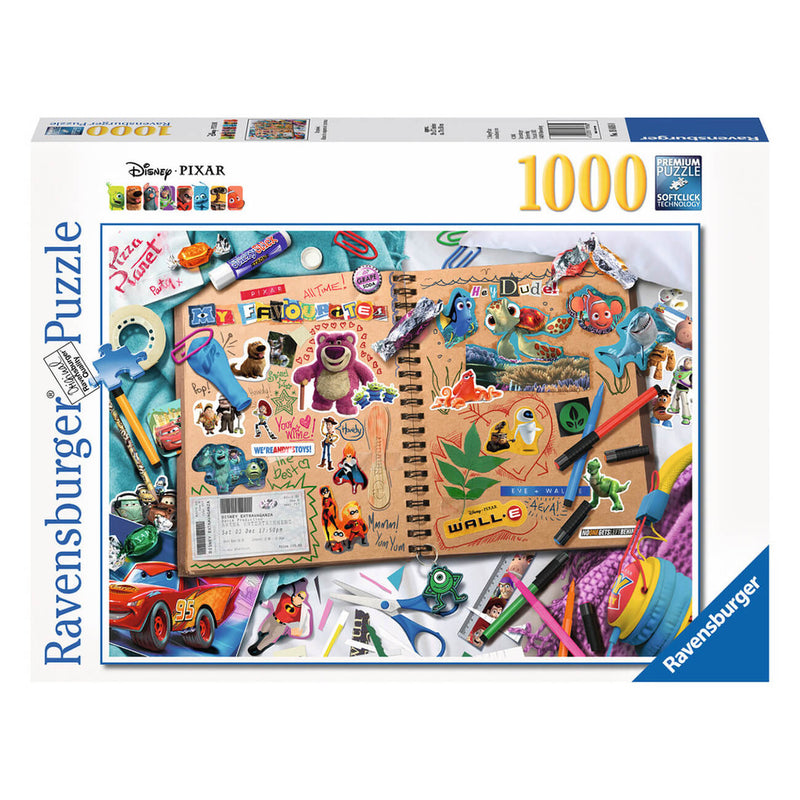 Ravensburger Disney Pixar Scrapbook 1000 Piece Puzzle