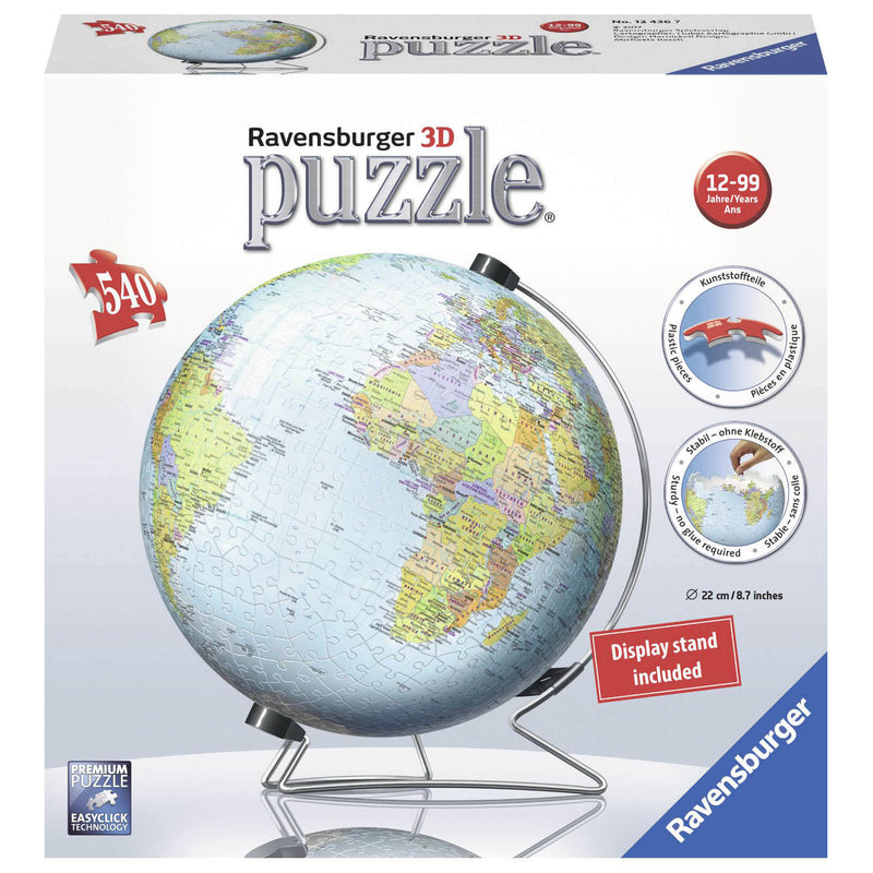 Ravensburger The Earth 540 Piece 3D Puzzle