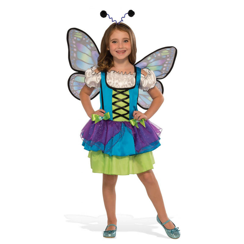 Rubies Glittery Blue Butterfly Small Costume