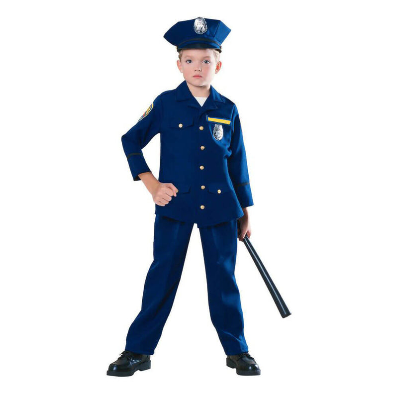 Rubies Police Officer Medium Costume