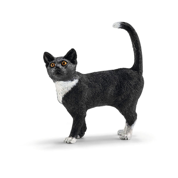Schleich Farm World Cat Standing Animal Figure