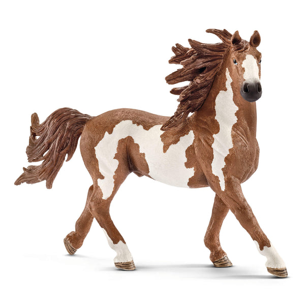 Schleich Farm World Pinto Stallion Animal Figure