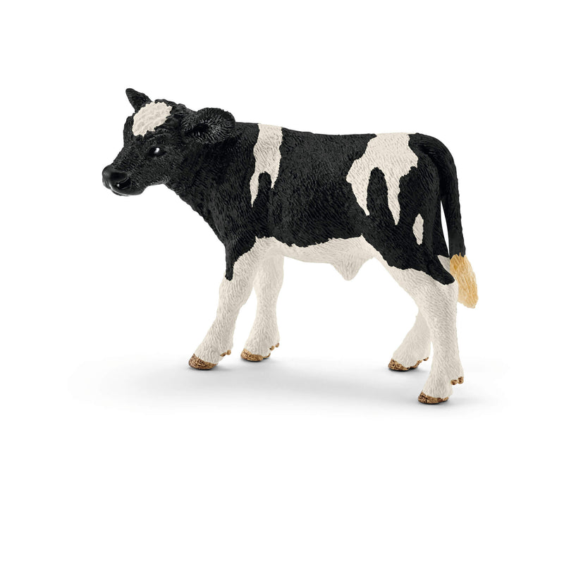 Schleich Farm World Holstein Calf Animal Figure