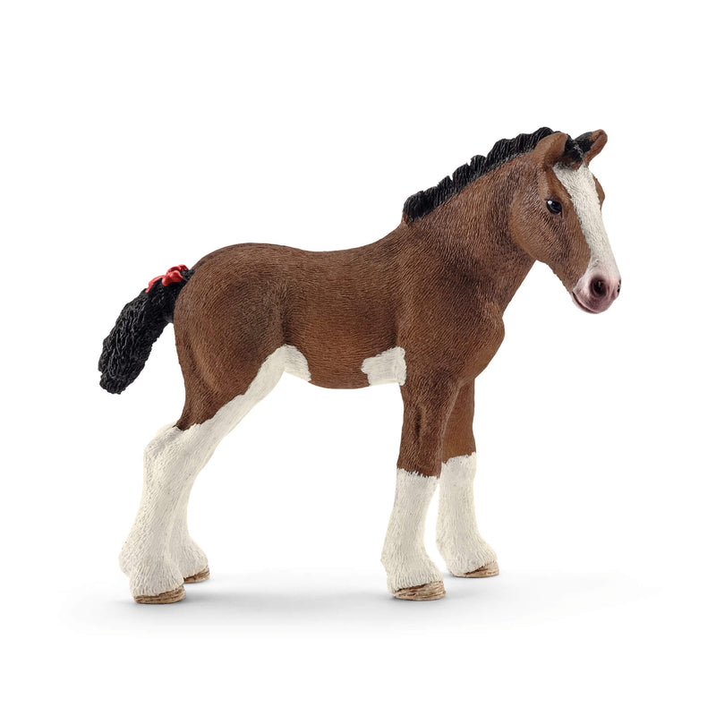 Schleich Farm World Clydesdale Foal Animal Figure