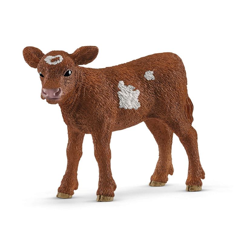 Schleich Farm World Texas Longhorn Calf Animal Figure