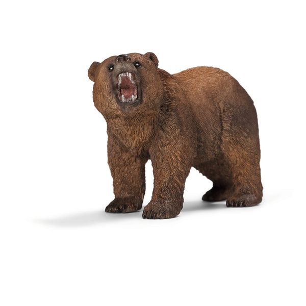 Schleich Wild Life Grizzly Bear Animal Figure