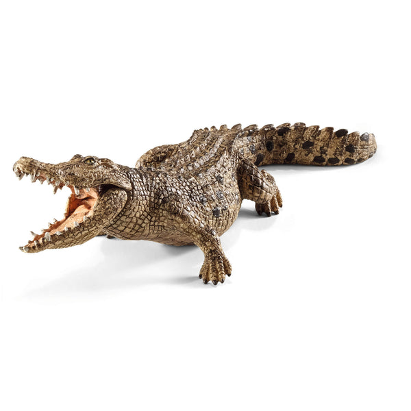 Schleich Wild Life Crocodile Animal Figure
